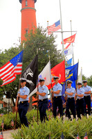Memorial day service Ponce Inlet 5/28/18