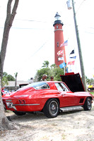 Vettes at the lighthouse Ponce Inlet