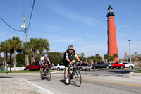 Bicycle group in ponce inlet 3/3/12